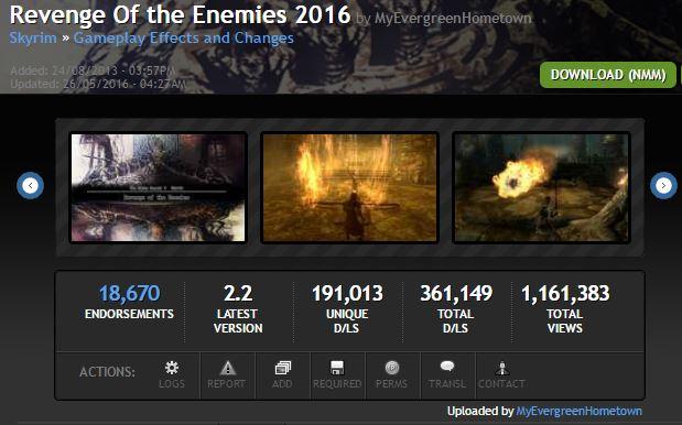 Скачать Мод На Скайрим Revenge Of The Enemies - фото 8